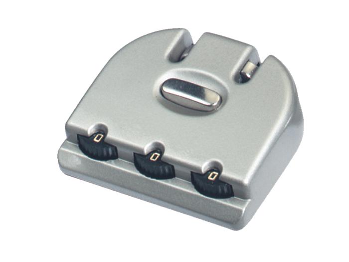 箱包五金配件拉链用锁L735Z