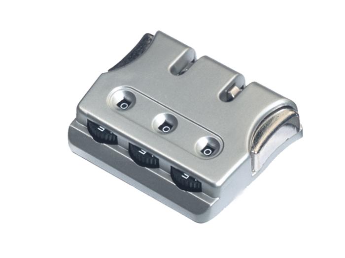 箱包五金配件拉链用锁L740Z