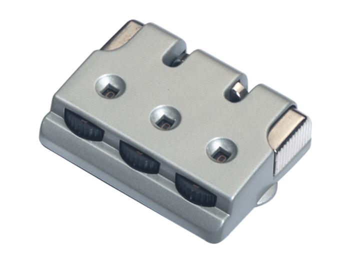 箱包五金配件拉链用锁L612Z