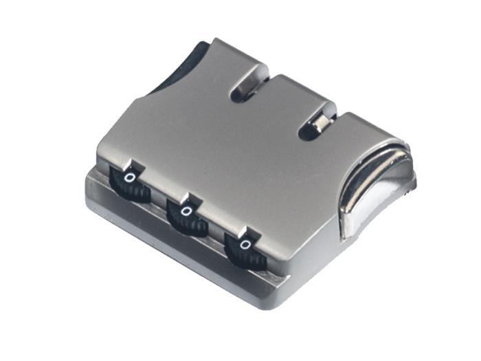 箱包五金配件拉链用锁L739Z