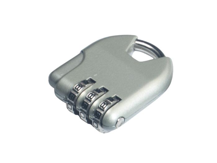 箱包五金配件拉链用锁L604Z