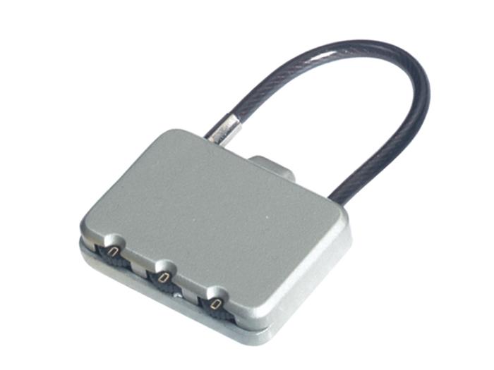 箱包五金配件拉链用锁L603Z