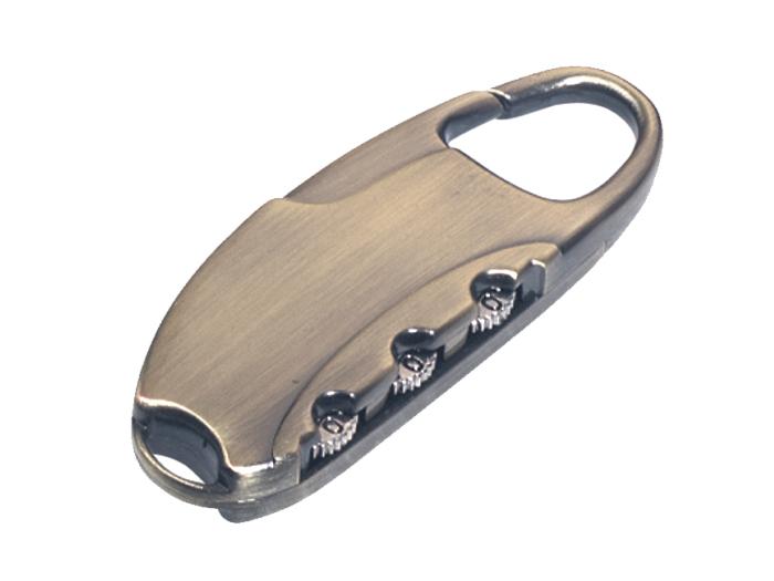 箱包五金配件拉链用锁L749Z