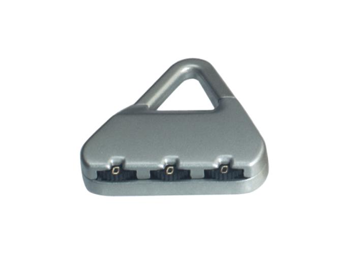箱包五金配件拉链用锁L750Z