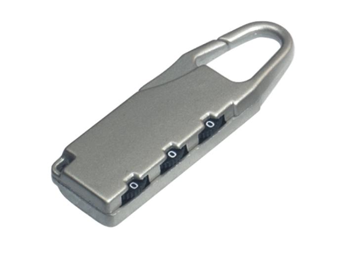 箱包五金配件拉链用锁L745Z