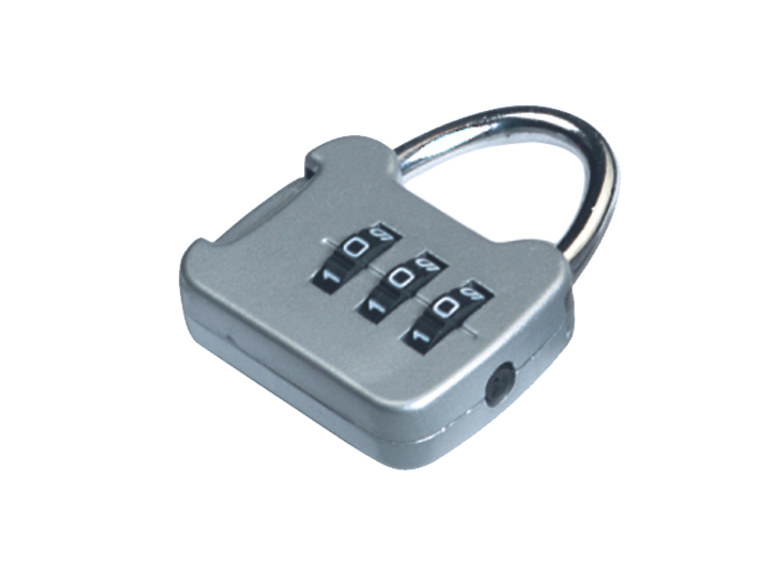 箱包五金配件拉链用锁L741Z