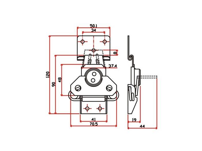 工具箱锁J220F