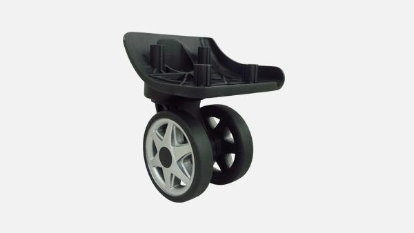 宏信拉杆箱脚轮种类