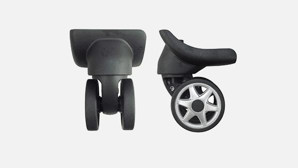 怎么选择质量好的宏信拉杆箱脚轮?