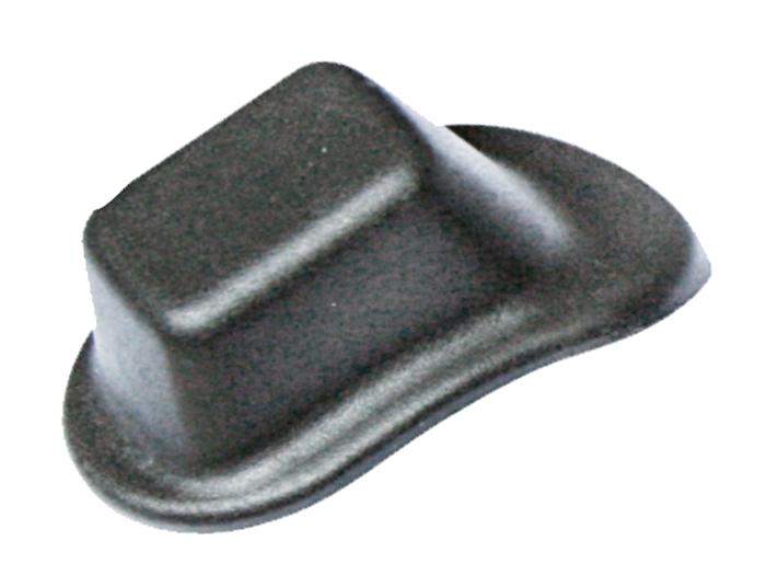 箱包塑胶底部配件脚座N638P